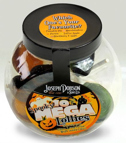 DOBSONS MINI JARS SPOOKY LOLLY SINGLE